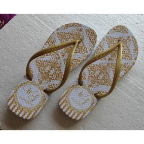 Chinelo Casamento Sandálias Personalizadas