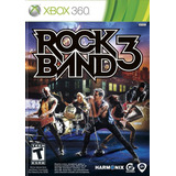 Rock Band 3 Nuevo Sellado Xbox 360