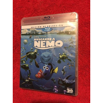 Buscando A Nemo Blu-ray 3d Tercera Dimension Disney Remato