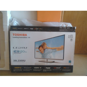 Tv Led Toshiba De 39 L2300u Totalmente Nuevo Negociable