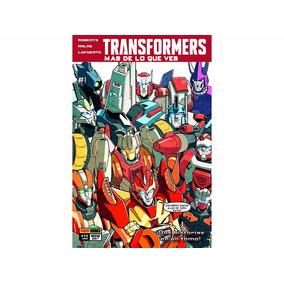Transformers Mas De Lo Que Ves #1 De Panini Comics Mexico