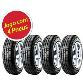 Kit Pneus Pneu Pirelli 175/70r14 84t P4 Cint 4 Unidades