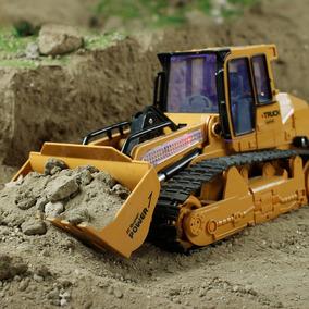 Caminhão Escavadeira Pá Carregadeira Controle Remoto Rec 6ch