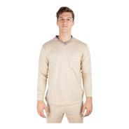 Pijama Hombre Invierno Bolsillo Algodon Jersey Olegario