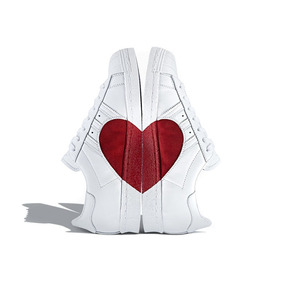Tenis adidas Superstar Half Heart Love Edition Especial!!