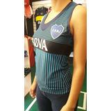 Musculosa De Mujer Boca Juniors , Jockey ,futbol