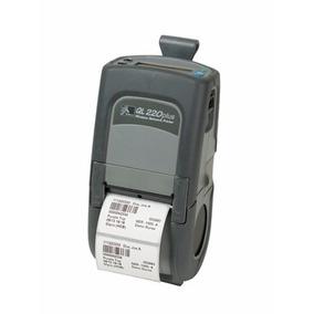 Impressora Termica Portatil Zebra Ql220bt Bluetooth Com Carr