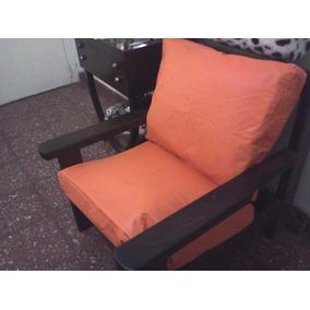 Almohadones para sillones algarrobo almohadones en for Muebles de algarrobo mercadolibre