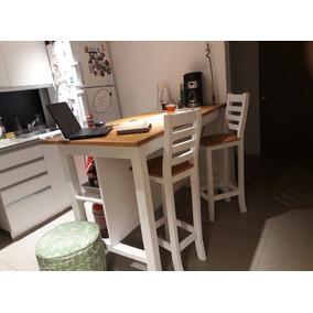 Desayunador todo para cocina en mercado libre argentina isla desayunador barra arrime 2 sillas 100x60x105 thecheapjerseys Choice Image
