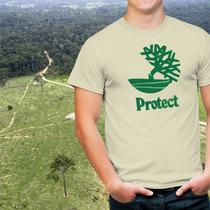 Camisa Ecológica Protect - Timberland - Ecologia Preservação