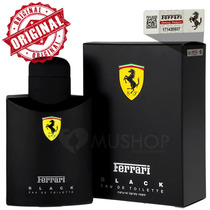 Ferrari Black 125ml Perfume Original Importado Usa Lacrado!