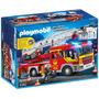 Playmobil Caminhão De Bombeiros City Axtion 5362 77 Peças