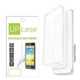 Capa Transparente + Pelicula De Vidro Galaxy S Duos S7562