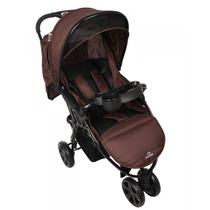 Carrinho De Bebê 3 Rodas Dardara Street Marrom