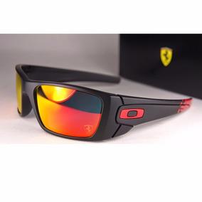 Oakley Ferrari Fuel Cell Matte Black Ruby Iridium Oo9096-a8