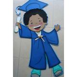 Figuras En Foami, Nombres Foamy, Graduación Y Pre-escolar
