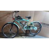 Bicicleta Motorizada Motor 2 Tempos 80 Cc
