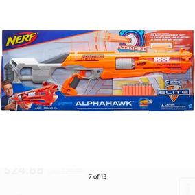 Nerf Alphahawk Lanza Dardo Mide 75cm +8 Años No Usa Pilas