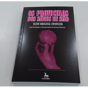 Texto Completo Os Protocolos Dos Sábios De Sião - Livro Novo
