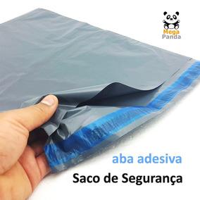 1000 Envelope De Segurança 20x30 Saco Plástico Aba Adesiva