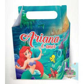 Caixinha Surpresa Ariel Pequena Sereia Kit C/40 Unid