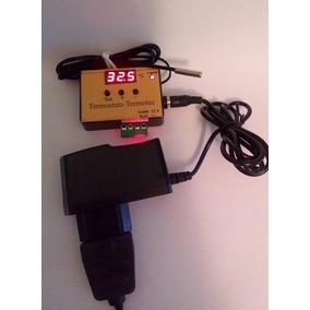 Termostato Termômetro Digital Chocadeira De Ovos + Fonte 12v