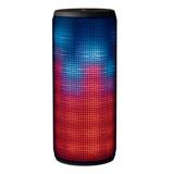 Speaker Trust Dixxo Inalambrico Bluetooth Gris Iluminacion