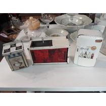 Antiguo Juego De Cocina, Heladera Y Mesada Marca Daisa #0982