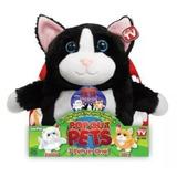 Peluche Pop Out Pets 3 Mascotas En 1 Reversible Gato