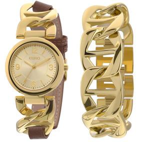 Relógio Feminino Euro Eu2035xzz/4m - Rev. Autorizada ( Nfe )