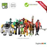 Ben 10 Coleccion Completa - 9 Personajes Figuras Anime Xlr8