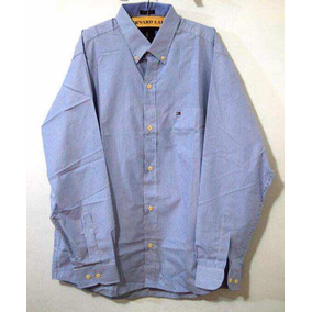 Camisa Celeste Tommy Hilfiger Ropa Masculina Camisas Polos - Ropa y ... 3a08594674060