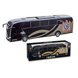 Ônibus Iveco Corinthians 45cm 269 - Usual Brinquedos