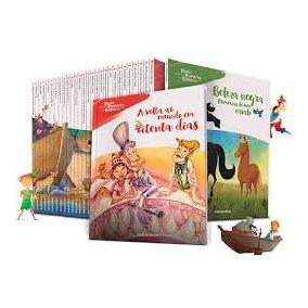 Coleção Folha Minha Primeira Biblioteca 28 Livros + Box