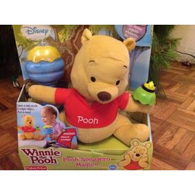 Winnie Pooh Oso Sonajero Magico Disney Fisher Price