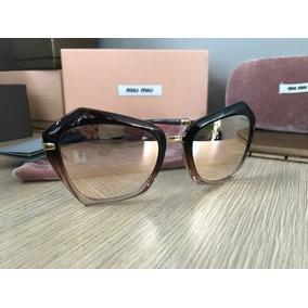 Oculos Miu Miu Redondo Espelhado - Óculos no Mercado Livre Brasil 8a367b8fc1