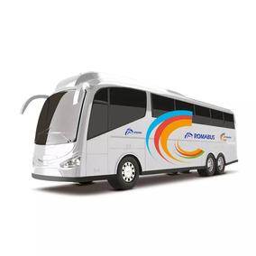 Brinquedo Onibus Roma Bus Executive - Cor Branco
