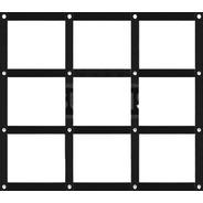 Quadrado Coordenação Motora Agilidade Pliometria 9 Espaços