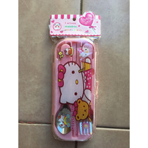 Set Cubiertos Nena Hello Kitty