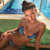 Bikini Verano 2018 Super Sexy Triangulitos Y Tanga Estampada