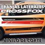 Calco Lateral Crossfox 2 Franjas Medidas Originales