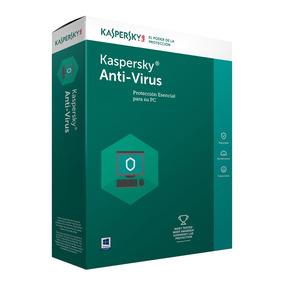 Kaspersky Antivirus 1 Pc 1 Año 2018 2019 Oficial