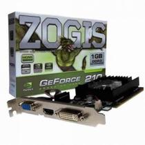 Placa De Video Zogis Geforce Gt210 1gb 64bits Zo210 -1gd2lp