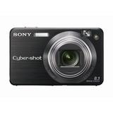Cámara Sony Cybershot Dscw150/b 8.1mp 5x Super Steady Shot