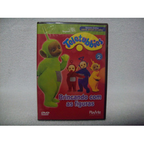 Dvd Teletubbies- Brincando Com As Figuras Lacrado De Fábrica