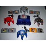 Consola Nintendo 64 Morado Original 2 Juegosenvio Gratis.