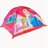 Carpa Camping Barbie Niñas Princesas 87x120x120cm