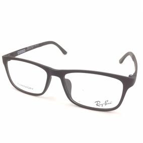 Armaçao Oculos De Grau Quadrado Ray Ban Cinza Barato