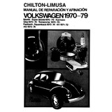 Manual De Reparacion De Vocho 1970 A 1979 (español Digital)