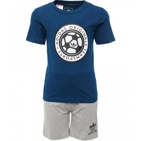 Conjunto Playera Con Short Originals Bebe adidas Aj0237